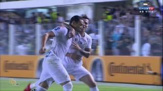 Gols - Santos 3 x 1 Vasco - 1º Jogo Oitavas Copa do Brasil 2016 - 24/08/2016 Estádio: Vila Belmiro, Santos-SP.
