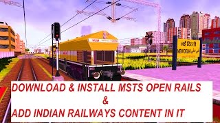 Download Lagu How to download & Install MSTS Open Rails by Sumit Mehrotra Mp3