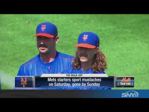 Video: The Mustaches of the New York Mets rotation come and go...