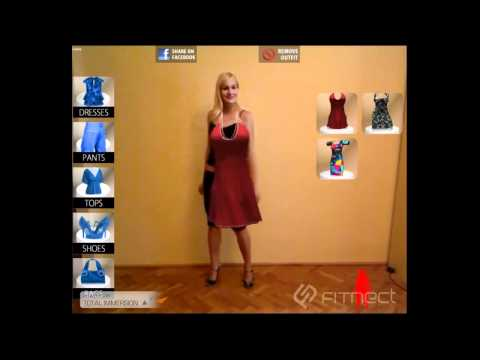virtual fitting room application