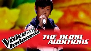 "Video Yonathan ""Rude"" I The Blind Auditions I The Voice Kids Indonesia GlobalTV 2016 MP3, 3GP, MP4, WEBM, AVI, FLV Desember 2017"