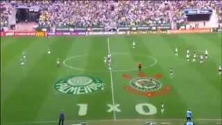 PALMEIRAS 3 X 3 CORINTHIANS - Em jogaço de seis gols, Corinthians vê vantagem cair, e Palmeiras se afasta do G-4. Um clássico inesquecível. Seis gols ...