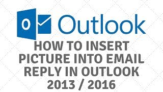 Insert Picture into Email in Outlook 2013 / 2016In this video, I will show you how to insert a photo or image into your email in Microsoft Outlook 2013 and 2016. Microsoft for some reason decided to hide the insert tab in the reply email and called it pop out. Join our forumhttp://www.briteccomputers.co.uk/forum