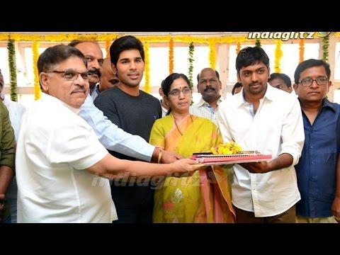 Allu-Sirish-New-Movie-Launch