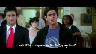 SRK's best Dialogues from Kal Ho Na Ho   I love you Naina  Shah Rukh Khan   Priety Zinta   Saif Ali