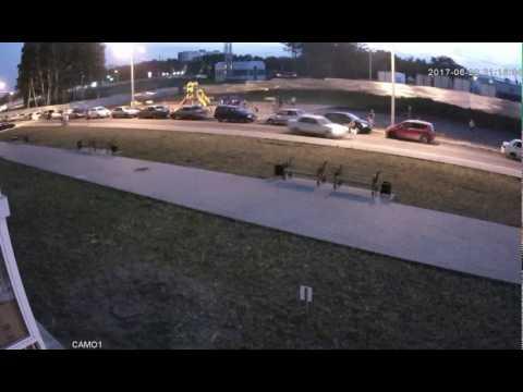 Авария с пешеходом в Воронеже