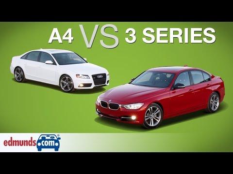 Audi A4 vs BMW 3 Series – Edmunds A-Rated Luxury Sedans Face Off