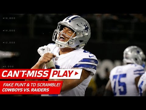 Video: Dallas Pulls Off Fake Punt to Set Up Dak Prescott's TD Scramble! | Can't-Miss Play | NFL Wk 15