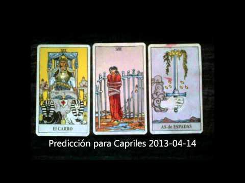 Predicción para Capriles 2013-04-14