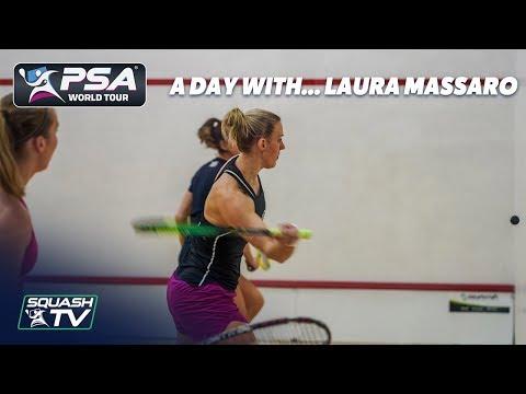 Squash: A Day With... Laura Massaro