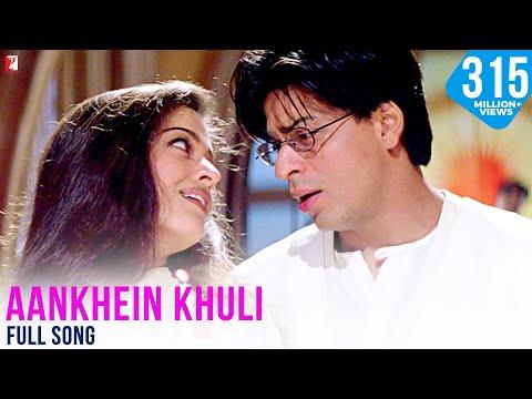 Aankhein Khuli Full Song | Mohabbatein | Shah Rukh Khan, Aishwarya Rai, Jatin-Lalit, Lata Mangeshkar