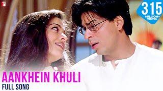 Nonton Aankhein Khuli   Full Song   Mohabbatein   Shah Rukh Khan   Aishwarya Rai Film Subtitle Indonesia Streaming Movie Download