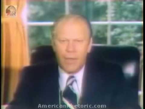 Ford Pardons Nixon - September 8, 1974
