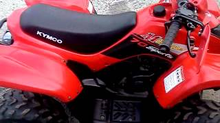 4. 2008 Kymco mongoose 70cc atv