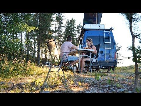 Finnland: Ein Traum für alle Camper・Wildcamping・V2og #68