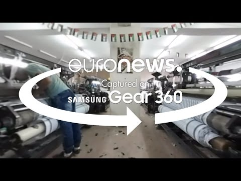 Δ. Όχθη: Στα άδυτα του τελευταίου υφαντουργείου παλαιστινιακής μαντίλας – βίντεο 360 °