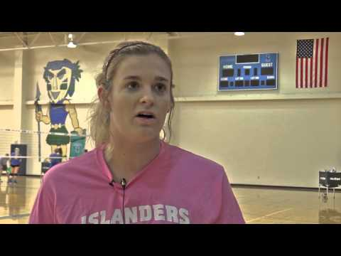 Islanders Volleyball Previews Lamar and Sam Houston State
