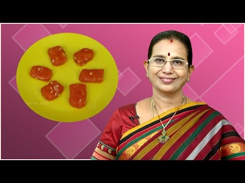 Bombay Halwa | Mallika Badrinath Recipes | Diwali sweet recipes