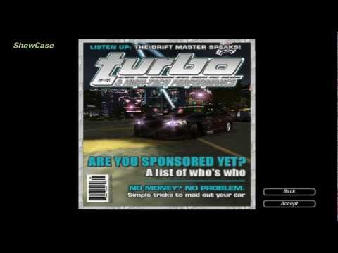 Need For Speed: Underground 2 – Magazine Cover #1 – Turbo & High-Tech Performance (Stage 2)