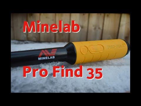 Minelab Pro Find 35