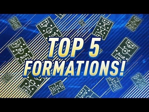 THE FINAL TOP 5 FORMATIONS IN FIFA 18