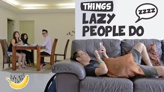 Video Things Lazy People Do MP3, 3GP, MP4, WEBM, AVI, FLV Juli 2018