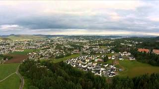Skien Norway  city photo : Phantom Vision plus first test flight in Norway(Skien)