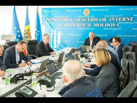 Igor Dodon a prezidat ședința Centrului unic de comandă pentru gestionarea crizei coronavirus