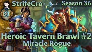 Hearthstone Hearthstone Heroic Tavern Brawl: Miracle Rogue #2