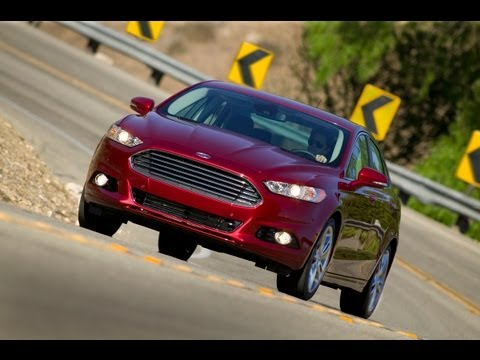 Ford Mondeo 2013 Ford Fusion First Drive & Review
