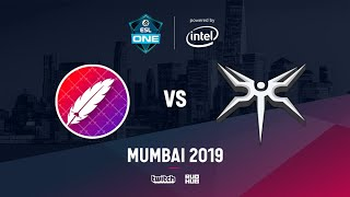 The Pango vs Mineski, ESL One Mumbai 2019, bo3, game 1 [Mortalles & Smile]