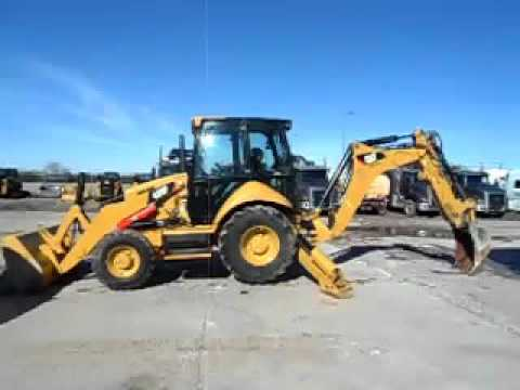 CATERPILLAR RETROEXCAVADORAS CARGADORAS 420FST equipment video eMJzQjI54ko