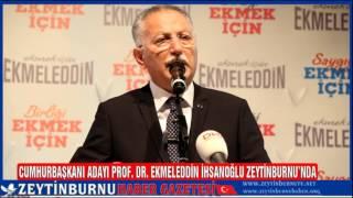 Ekmeleddinİhsanoğlu Zeytinburnu'nda iftara katıldı