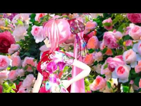 MMD Tda Luka 威風堂々 Rose Garden