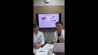 Шестой прямой эфир «Причины желтухи и все о желчном пузыре» с профессором Ким Хён Чоль