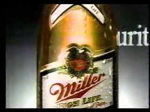 Miller High Life Beer commercial