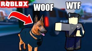 ROBLOX: ★ Perros Policias en Jailbreak / Actualizacion Secreta ★