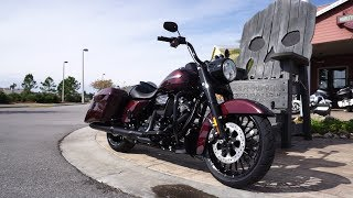 6. 2019 Harley Davidson TWISTED CHERRY Road King Special 114 Review