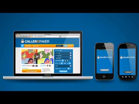 Video of CallerIDFaker.com