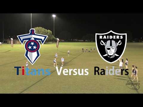 Round 1 - Titans Versus Raiders - Inferno Super Series Women's