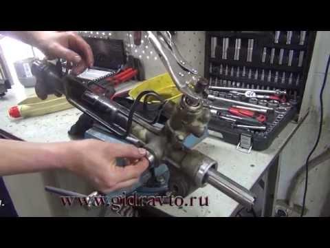 Ремонт рулевая рейка тойота прадо 120 фото