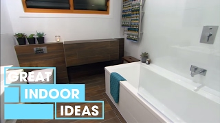 Stylish Bathroom Makeover | Indoor | Great Home Ideas