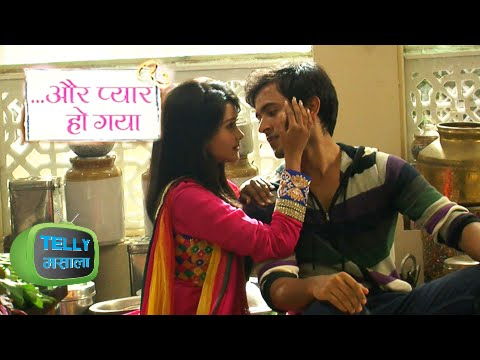 Video Watch Raj And Avni's Romance In The Kitchen - Aur Pyaar Ho Gaya Zee Tv Show download in MP3, 3GP, MP4, WEBM, AVI, FLV January 2017