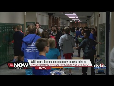 WATCH: Franklin Township schools seem to burst at seems as student population swells