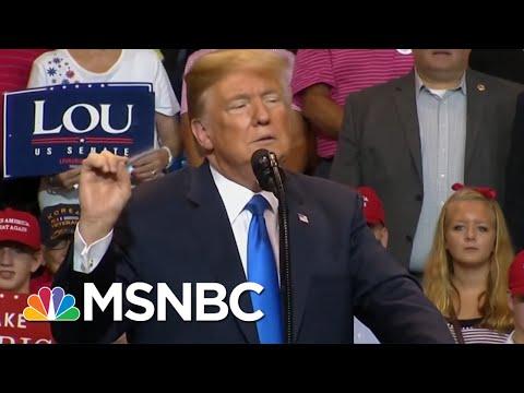Trump Intel Officials: Russia's A Threat. Donald Trump: Russia's A Hoax. | The 11th Hour | MSNBC