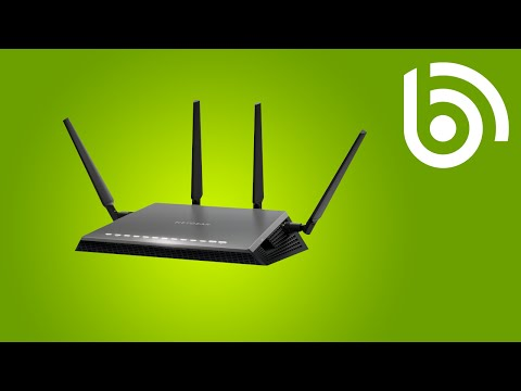 How to set-up a NETGEAR DSL modem router