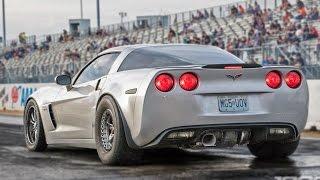 MASSIVE Rear Mounted TURBO Corvette! by 1320Video