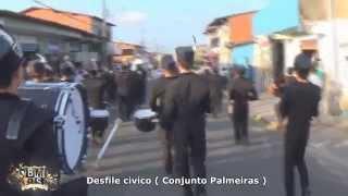 BMP Solares no Conjunto Palmeiras desfile civico 2014