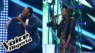 Uche Michael vs Dawn singing 'Four, Five, Seconds' / The Voice Nigeria 2016