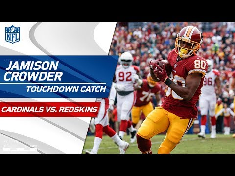 Video: Cousins Capitalizes on Fumble Recovery w/ TD Toss to Crowder! | Cardinals vs. Redskins | NFL Wk 15